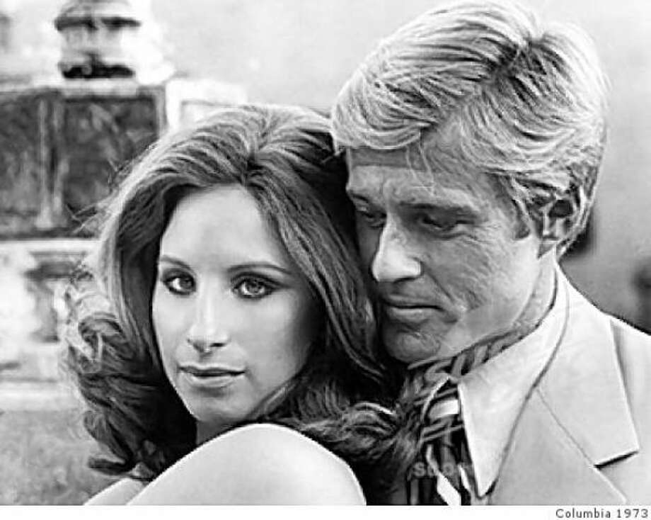 Robert Redford and Barbra Streisand in The Way We Were.  Hard to believe then, and now.