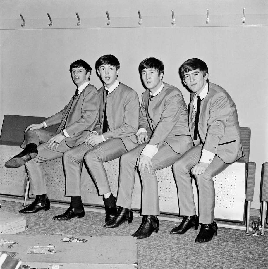 The Beatles scored their first Billboard Hot 100 No. 1 with 'I Want to Hold Your Hand' on Jan 27, 1964. Here's a look back at the Fab Four in their early days. Photo: Andy Wright, Getty Images / 2012 Andy Wright