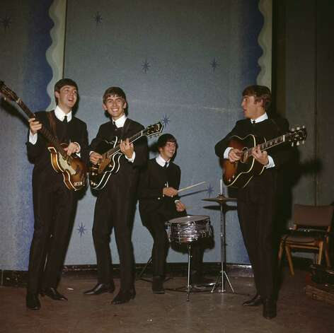 The Beatles rehearsing in 1963. Photo: Antonia Hille, Getty Images / 2009 Getty Images