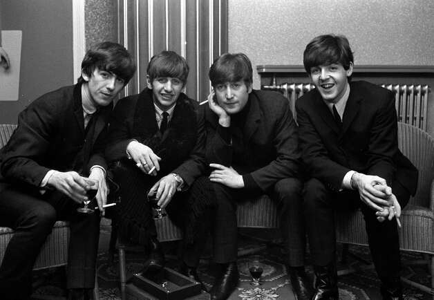 The Beatles pose for a portrait. Photo: Popperfoto, Getty Images / Popperfoto
