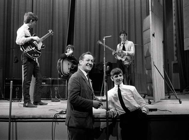 The Beatles during rehearsals in 1963 Photo: Popperfoto, Getty Images / Popperfoto