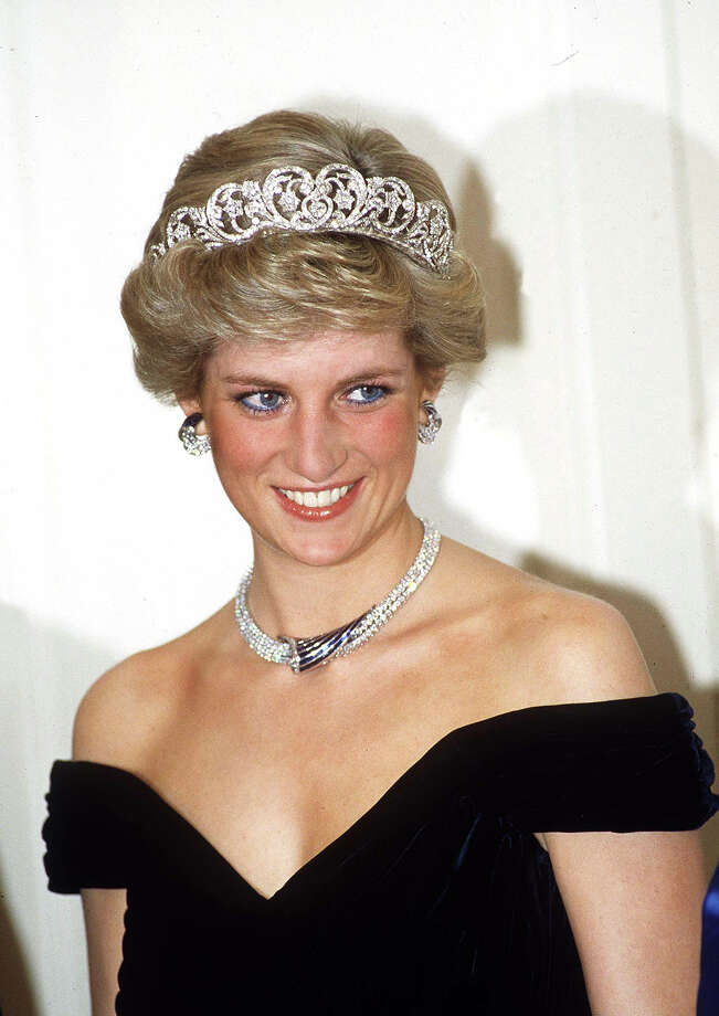 "Ten dresses worn by the late style icon, Princess Diana of Wales, are set to be auctioned off on March 19 during the ""Fit for a Princess: Important dresses formerly in the collection of Diana, Princess of Wales,"" event from Kerry Taylor Auctions in London. Photo: Tim Graham, Tim Graham/Getty Images / Tim Graham Photo Library"