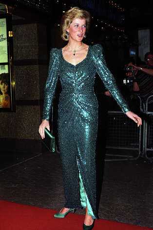 "Diana, Princess of Wales, attends the premiere of ""Shirley Valentine,"" at The Empire Cinema in London's Leicester Square. Photo: Julian Parker, UK Press Via Getty Images / UK Press"