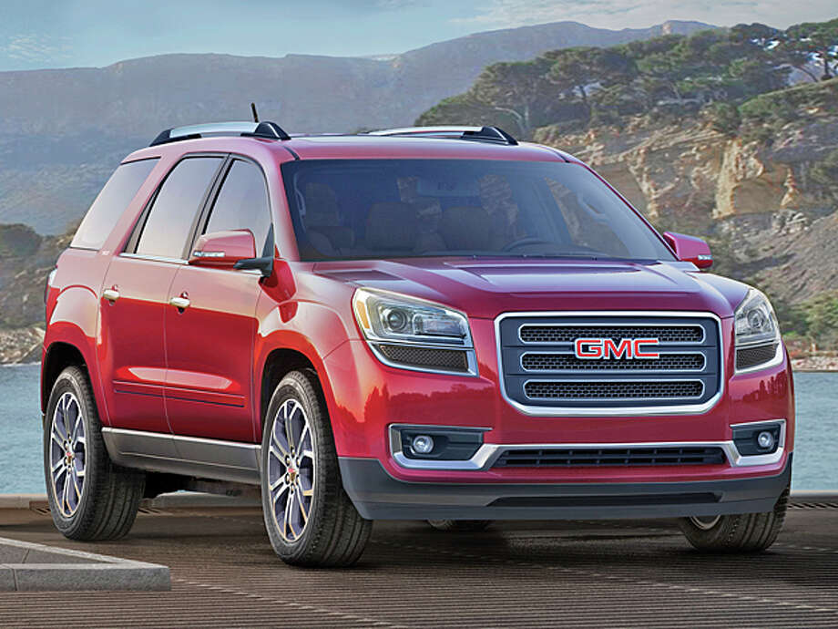 2013 GMC Acadia (photo courtesy of General Motors Corporation) / License Agreement - Please read the following important information pertaining to this image. This GM image is protected by copy