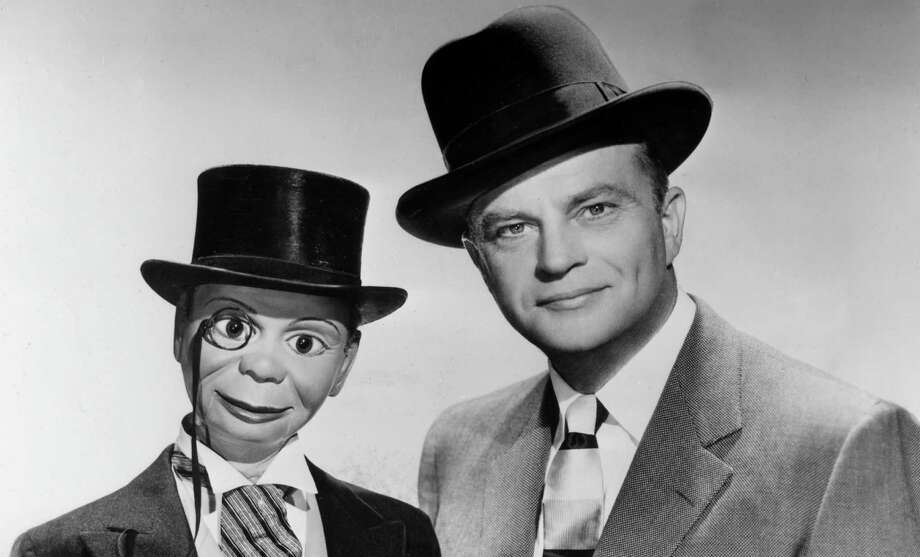 Charlie McCarthy was ventriloquist Edgar Bergen's lifelong sidekick. The pair got their start on the radio, which obviously makes zero sense. Photo: Hulton Archive, Getty Images / Archive Photos