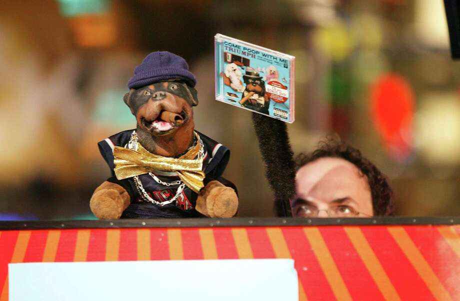 And finally, Triumph the Insult Comic Dog, who intrepidly dressed down some of the biggest celebrities in the business. Photo: Scott Gries, Getty Images / 2003 Getty Images