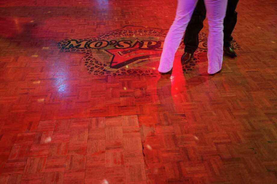 A couple dancing on the main dance floor. Photo: TODD SPOTH, For The Chronicle / Todd Spoth
