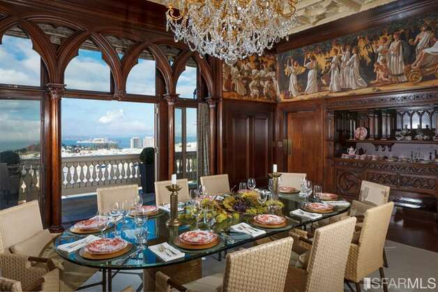 Dining with many views. All photos via Sotheby's/MLS.