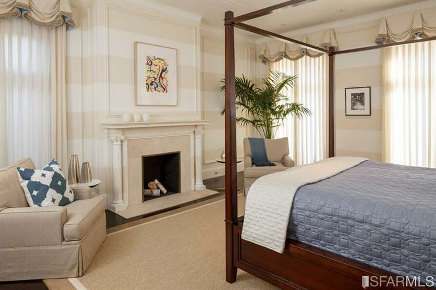 Alt view of bedroom. All photos via Sotheby's/MLS.