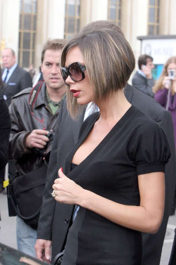 Victoria Beckham in Paris on October 6, 2006. Photo: Pierre Suu, FilmMagic / FilmMagic