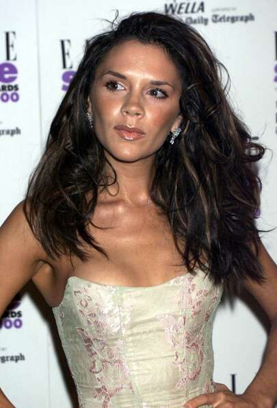 Victoria Beckham attends the Elle Style Awards on July 9, 2000 in London.