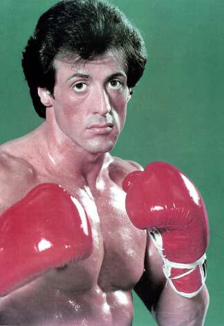 Sylvester Stallone poses in a publicity portrait for the original 'Rocky,' in 1976. Photo: Archive Photos, Getty Images / 2012 Getty Images