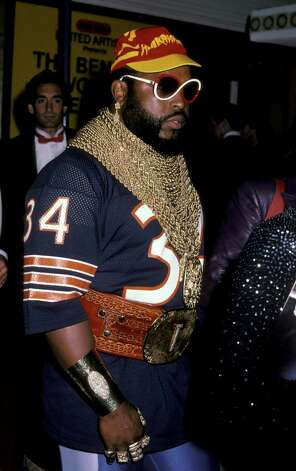 Mr. T wasn't in 'Rocky IV,' but he did dress up for the premiere. Photo: Ron Galella, WireImage / Ron Galella Collection