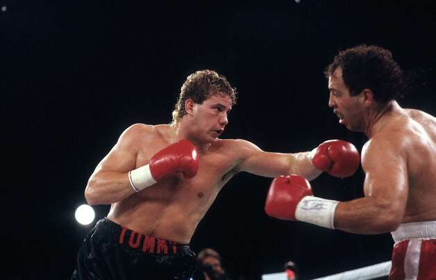 Did we mention that Tommy Morrison was an actual boxer? Here, he fights Ken Lakusta in 1990. Morrison won in a unanimous decision. Photo: The Ring Magazine, The Ring Magazine/Getty Images / 2012 The Ring Magazine