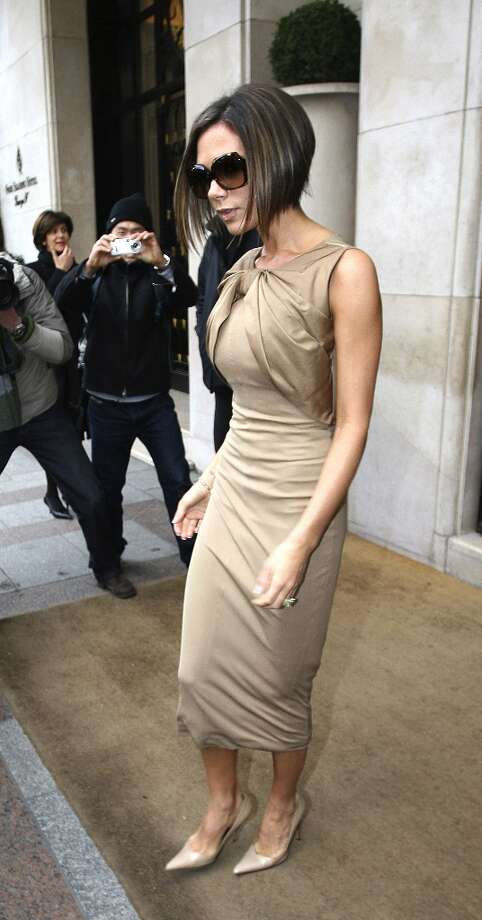 Victoria Beckham during Paris Fashion Week Haute Couture Spring/Summer 2007 in Paris, France. Photo: Jacques Moineau, FilmMagic / FilmMagic