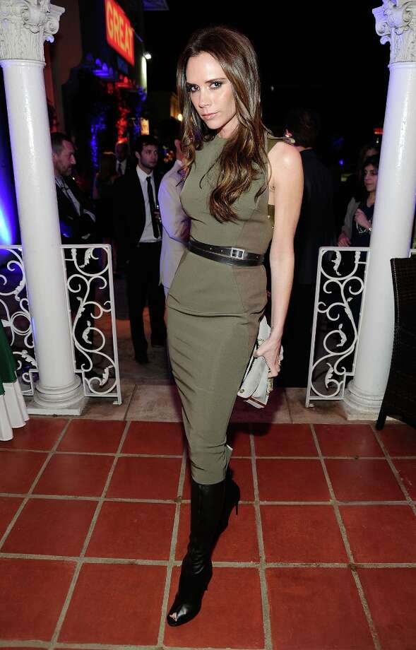 Designer Victoria Beckham attends the GREAT British Film Reception to honor the British nominees of The 84th Annual Academy Awards at the British Consul General's Residence on February 24, 2012 in Los Angeles, California. Photo: Frazer Harrison / 2012 Getty Images