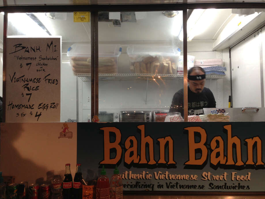 A closer look at the awesome, and affordable, food truck called the Bahn Bahn.