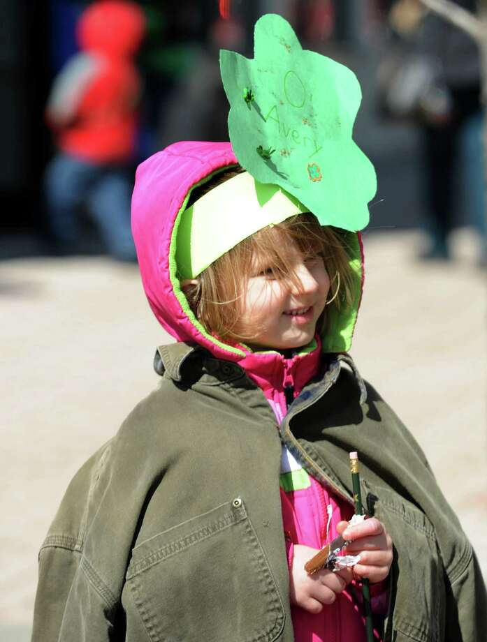 The annual St. Patrick's Day parade in downtown Bridgeport, Conn. on Friday March 15, 2013. Photo: Cathy Zuraw / Connecticut Post