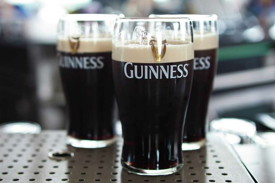 When you hoist that glass of Guinness and toast to your health -- 