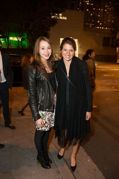 Rose Fisher and Lexie Fisher at ODC's Dance Downtown Opening Night Gala on March 14, 2013. The event