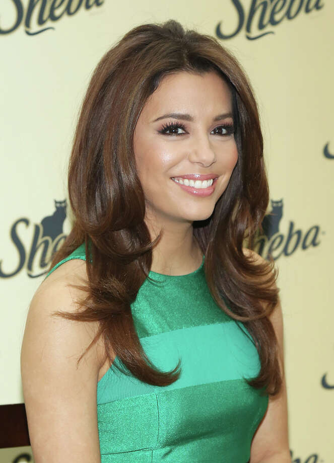 NEW YORK, NY - MARCH 07:  Eva Longoria attends the SHEBA. Feed Your Passion Campaign launch at Copacabana on March 7, 2013 in New York City. Photo: Rob Kim, FilmMagic / 2013 Rob Kim