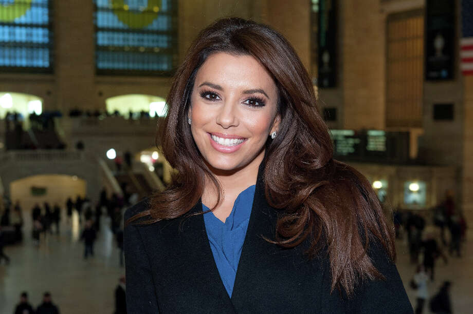 NEW YORK, NY - MARCH 07:  Eva Longoria visits Extra at Michael Jordan's The Steak House N.Y.C. in Grand Central Terminal on March 7, 2013 in New York City. Photo: D Dipasupil, Getty Images For Extra / 2013 D Dipasupil
