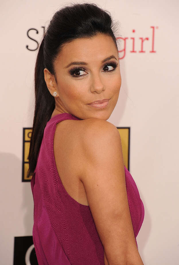 SANTA MONICA, CA - JANUARY 10:  Eva Longoria arrives at the 18th Annual Critics' Choice Movie Awards at The Barker Hangar on January 10, 2013 in Santa Monica, California. Photo: Steve Granitz, WireImage / 2013 Steve Granitz