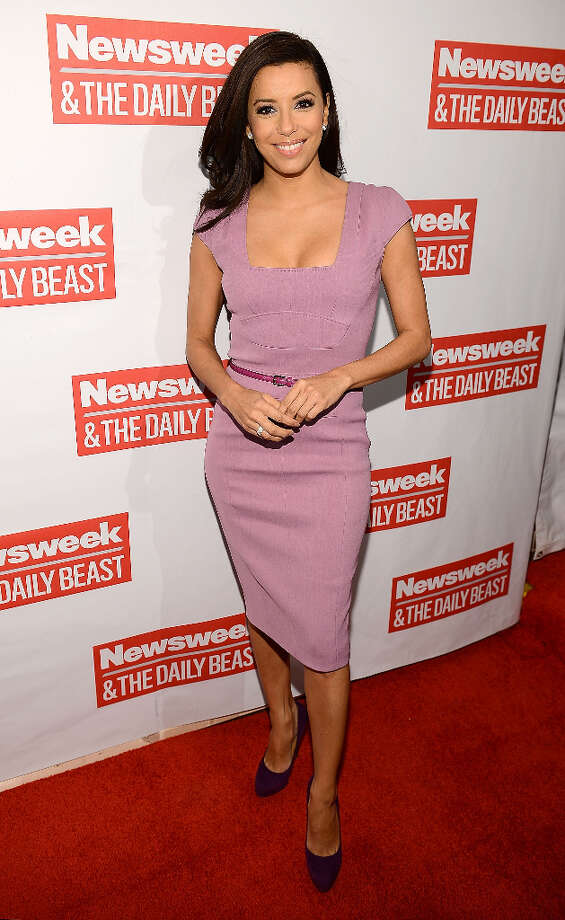 WASHINGTON, DC - JANUARY 20:  Actress Eva Longoria attends The Daily Beast Bi-Partisan Inauguration Brunch at Cafe Milano on January 20, 2013 in Washington, DC. Photo: Michael Kovac, WireImage / 2013 Michael Kovac