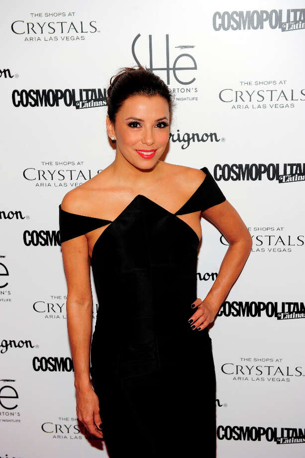 LAS VEGAS, NV - FEBRUARY 02:  Actress Eva Longoria arrives at the grand opening of SHe by Morton's at Crystals at CityCenter on February 2, 2013 in Las Vegas, Nevada. Photo: Steven Lawton, FilmMagic / 2013 Steven Lawton