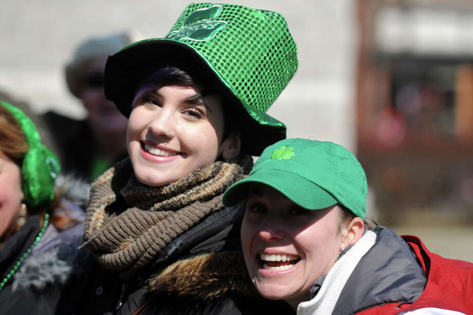 The annual Greater Bridgeport St. Patrick's Day Parade, in Bridgeport, Conn., March 15th, 2013. Photo: Ned Gerard / Connecticut Post