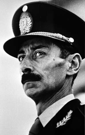 Retired general of the Argentine Army, Jorge Videla, leader of the 1976 military coup that began the seven-year Dirty War. Photo: STR