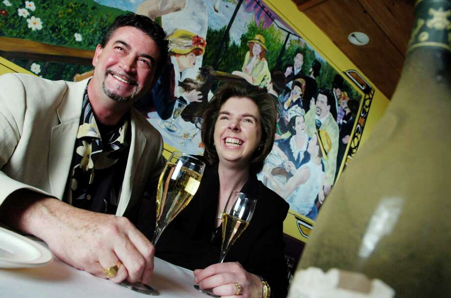 Jean-Pierre and Maria Bars, owners Chez Jean-Pierre on Bedford Street in Stamford. The restaurant has closed as the Bars prepare to return to France, and will be replaced by another bistro, La Barrique. Photo: File Photo / Stamford Advocate File Photo