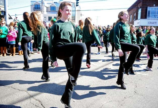Milford's annual St. Patrick's Day Parade may have already occurred, as can be seen by the dancers that make their way through downtown Milford, Conn., on Saturday, Mar. 9, 2013. But there are plenty of other St. Patrick's Day events planned from Friday, March 15, to Sunday, March 17, 2013.