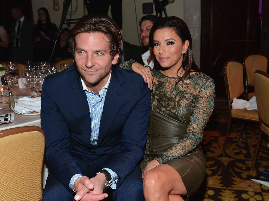 LOS ANGELES, CA - JANUARY 12: Actors Bradley Cooper and Eva Longoria attend the 2nd Annual Sean Penn and Friends Help Haiti Home Gala benefiting J/P HRO presented by Giorgio Armani  at Montage Hotel on January 12, 2013 in Los Angeles, California. Photo: Alberto E. Rodriguez / 2013 Getty Images