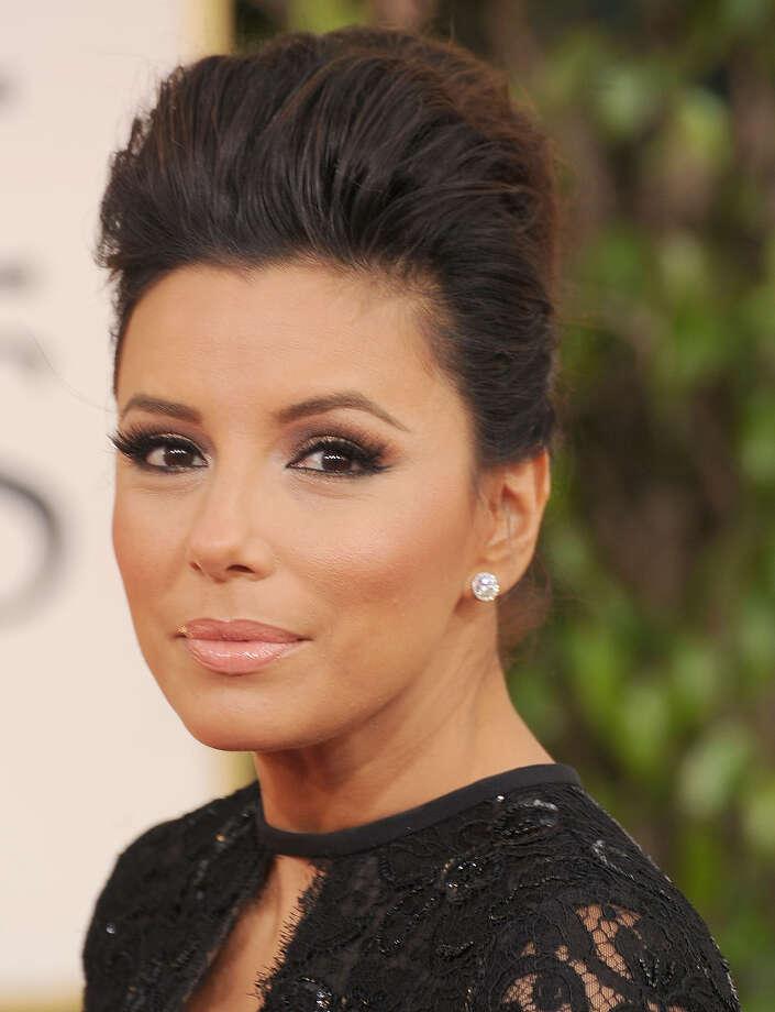 BEVERLY HILLS, CA - JANUARY 13:  Eva Longoria arrives at the 70th Annual Golden Globe Awards at The Beverly Hilton Hotel on January 13, 2013 in Beverly Hills, California. Photo: Steve Granitz, WireImage / 2013 Steve Granitz