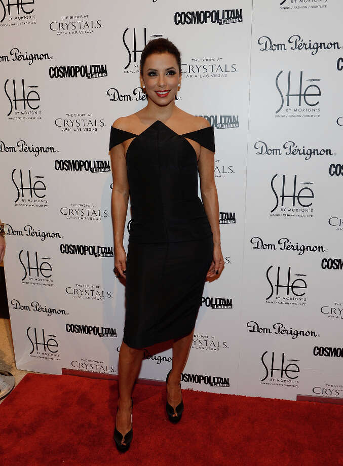 LAS VEGAS, NV - FEBRUARY 02:  Eva Longoria arrives at the grand opening of SHe by Morton's at Crystals at CityCenter on February 2, 2013 in Las Vegas, Nevada. Photo: Denise Truscello, WireImage / 2013 Denise Truscello