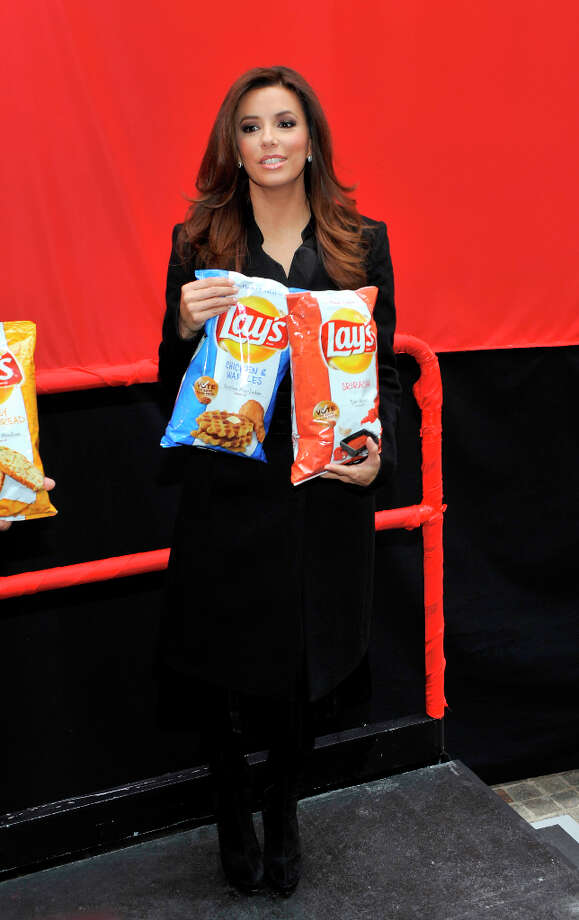 NEW YORK, NY - FEBRUARY 12: Eva Longoria attends NYSE Celebrates Lay's Do Us a Flavor Contest Finalists at New York Stock Exchange on February 12, 2013 in New York City. Photo: Michael N. Todaro, WireImage / 2013 Michael N. Todaro