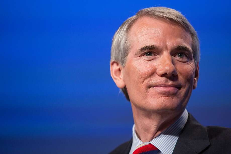 U.S. Sen. Rob Portman says his son Will is gay. Photo: Brendan Hoffman, Getty Images