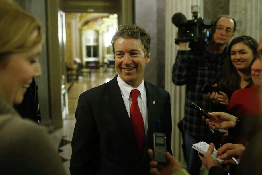 Kentucky Sen. Rand Paul's filibuster was brilliant but irrelevant. His real point — revealed later — concerns how drones should be used in the ongoing war on terror. Photo: Charles Dharapak / Associated Press