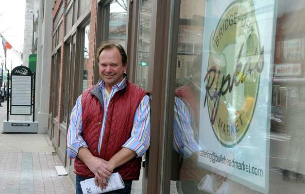 Clyde Ripka is launching Ripka's Bridgeport Market in the Arcade building on Main Street in downtown Bridgeport, Conn. The 7,000 square foot space is being fully renovated into a full-service grocery store and café opening in the spring. Photo: Autumn Driscoll / Connecticut Post