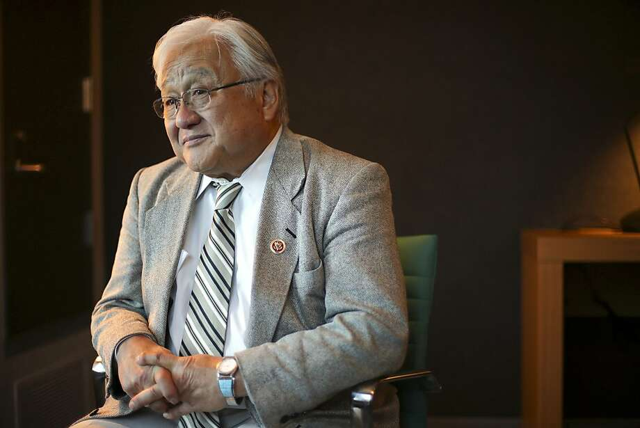 "Rep. Mike Honda, seen here in February, says his iBook will be ""the first-ever ... published by a member of Congress."" Photo: Jim Wilson, New York Times"