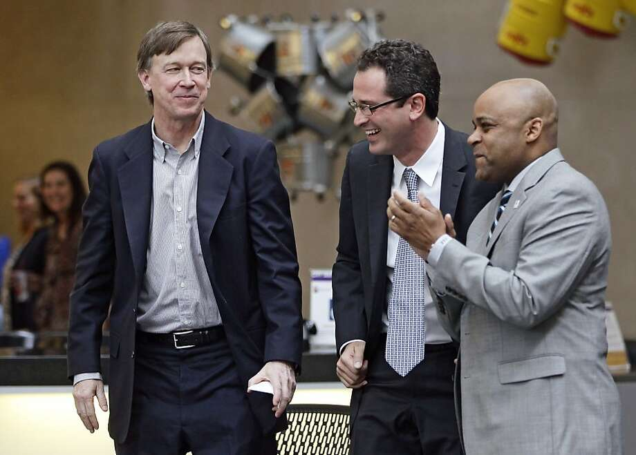 Gov. John Hickenlooper is expected to sign the bill into law. Photo: Brennan Linsley, Associated Press