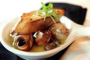 A little butter, wine and garlic will turn that snail into the French-loved dish of Escargot.