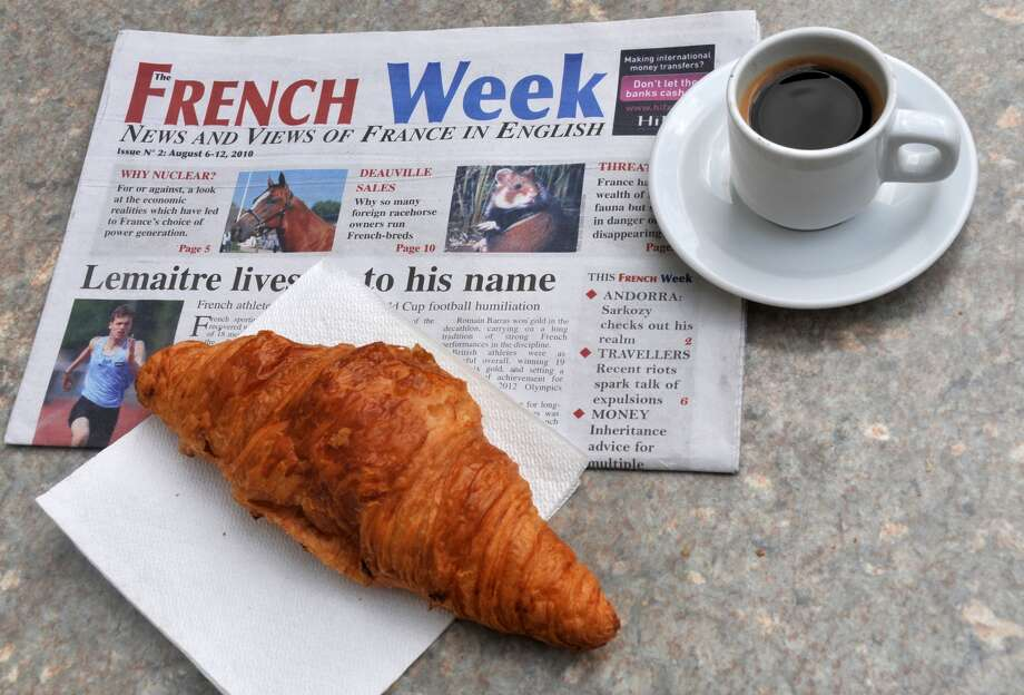 The French wouldn't dream of starting their day without one of their favorite beverages that isn't wine: coffee. Add a croissant, and you have the perfect Parisian breakfast.