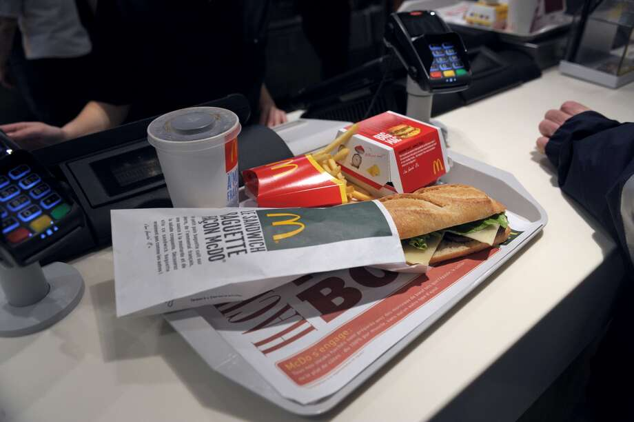 Speaking of baguettes ... The French are known to be somewhat snobbish about their cuisine. And yet, they also love McDonald's. The fast-food chain even developed the McBaguette last year for their fans in France. Photo: AFP
