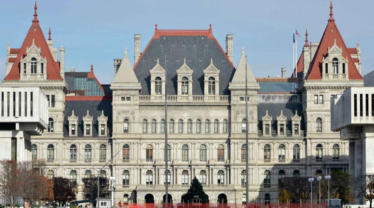 The NY State Capitol in Albany Tuesday Nov. 20, 2012. (John Carl D'Annibale / Times Union)