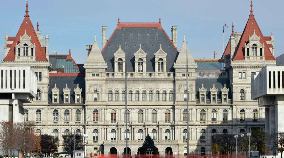 The NY State Capitol in Albany Tuesday Nov. 20, 2012.  (John Carl D'Annibale / Times Union) Photo: John Carl D'Annibale