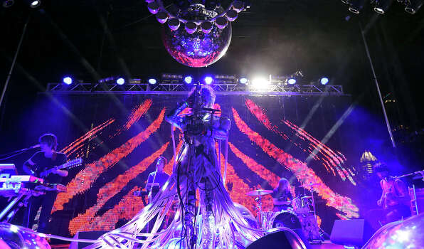 The Flaming Lips perform at Auditorium Shores during South by Southwest Friday March 15, 2013 in Austin, TX. Photo: Edward A. Ornelas, San Antonio Express-News / © 2013 San Antonio Express-News