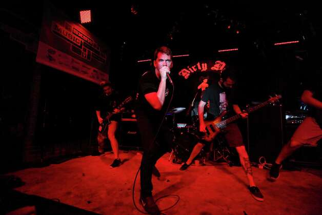 Adestria, from San Diego, CA, performs at the Dirty Dog Bar during South by Southwest Friday March 15, 2013 in Austin, TX. Photo: Edward A. Ornelas, San Antonio Express-News / © 2013 San Antonio Express-News