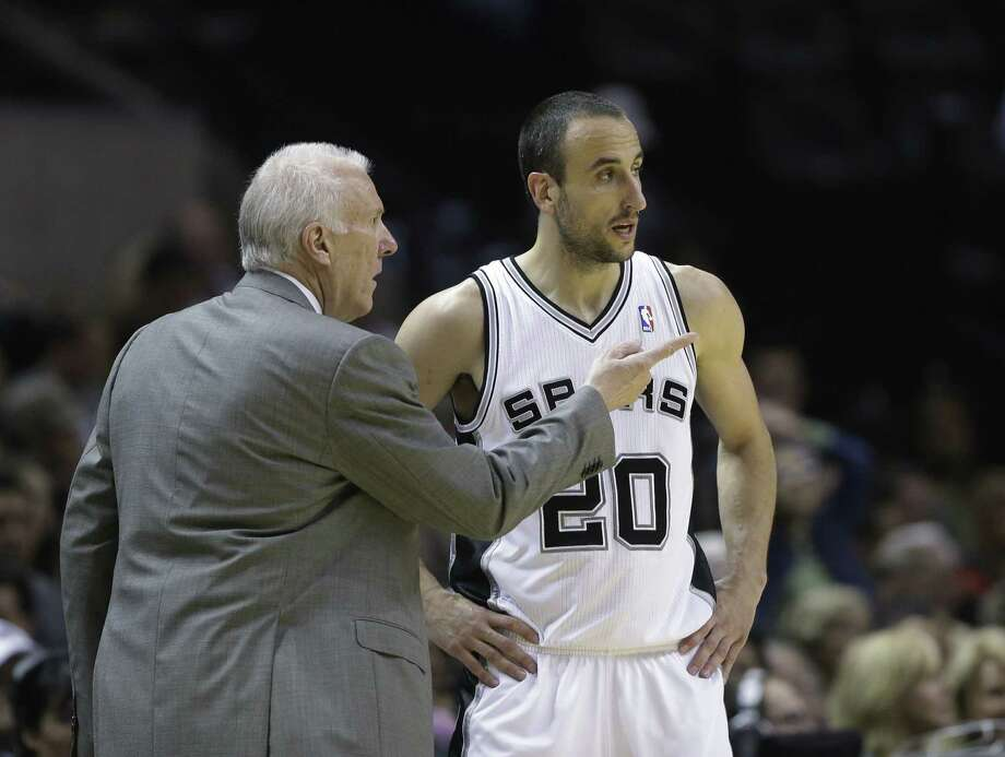 Manu Ginobili has been searching for his shot lately, hitting only 31.1 percent over his past four games.
